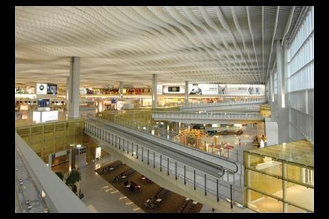 Hong Kong international airport, which Oakervee led from planning to completion